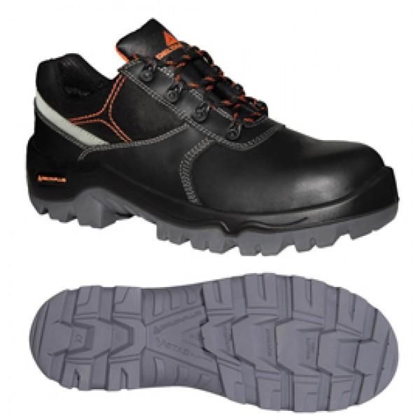 Calzatura di sicurezza Phocea S3 SRC - pelle crosta pigmentata - numero 40 - nero - Deltaplus
