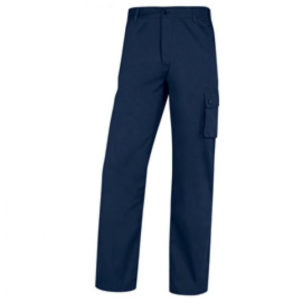 Pantalone da lavoro Palaos Paligpa - cotone - taglia L - blu - Deltaplus