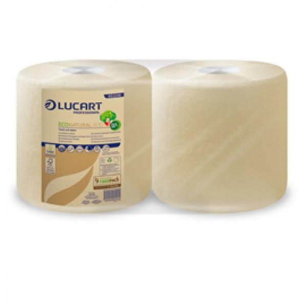 Bobina asciugatutto EcoNatural - 2 veli - 800 strappi - 200 mt – Lucart