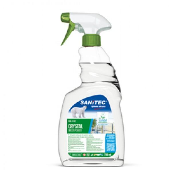 Detergente Green Power Vetri - Sanitec - trigger da 750 ml