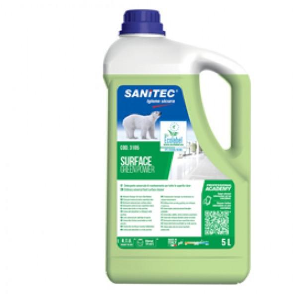 Detergente Green Power Pavimenti - Sanitec - tanica da 5 L