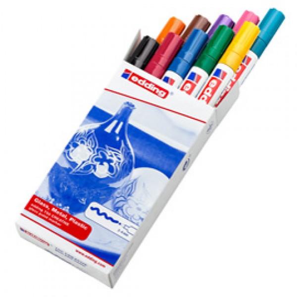 Marcatori 750 - punta media 2,00 - 4,00 mm - Edding - astuccio 10 pezzi