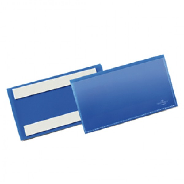 Buste identificative con bande adesive - 150x67 mm - Durable - conf. 50 pezzi