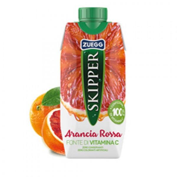 Succo Skipper - gusto arancia rossa - Zuegg - brick 330 ml