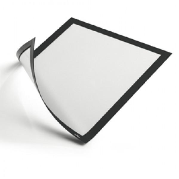 Cornice Duraframe® Magnetic - A4 - 21 x 29,7 cm - nero - Durable