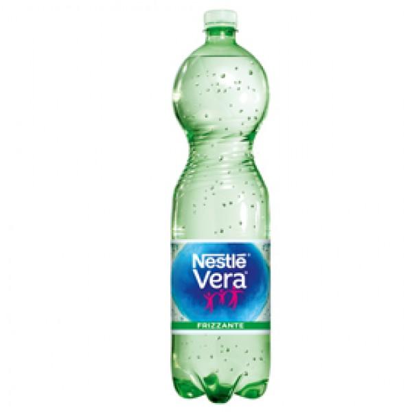 Acqua frizzante - PET - bottiglia da 1,5 L - Vera