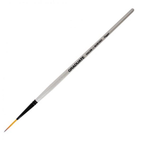 Pennello sintetico Graduate punta lunga - manico corto - numero 3 - Daler Rowney