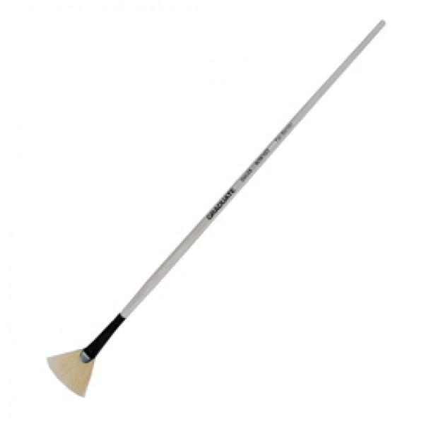 Pennello sintetico Graduate - ventaglio - manico corto - n. 4 - Daler Rowney