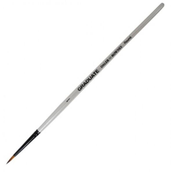 Pennello sintetico Graduate - tondo - manico corto - n.1 - Daler Rowney