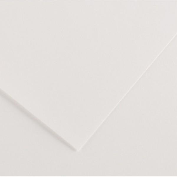 Foglio Colorline - 70x100 cm - 220 gr - bianco - Canson