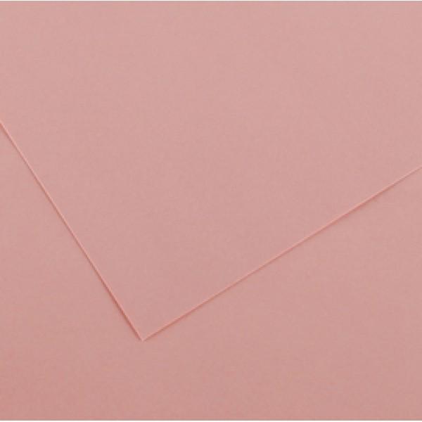 Foglio Colorline - 70x100 cm - 220 gr - rosa confetto - Canson