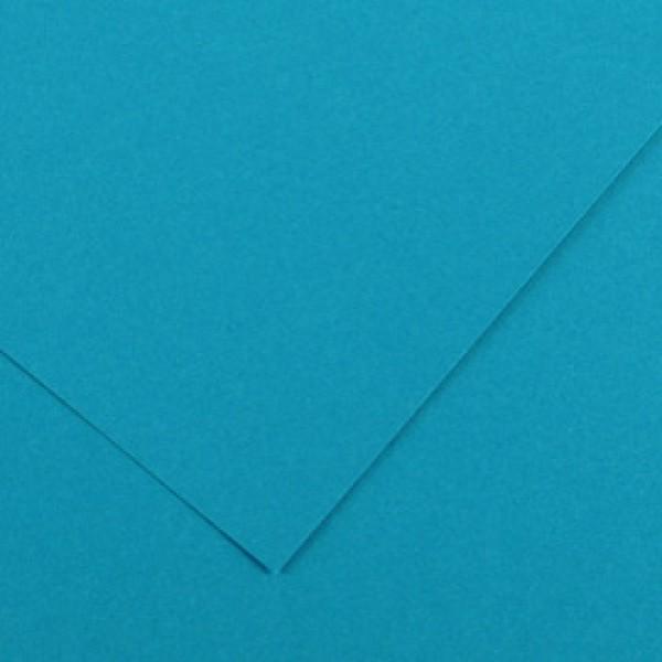 Foglio Colorline - 70x100 cm - 220 gr - blu primario - Canson