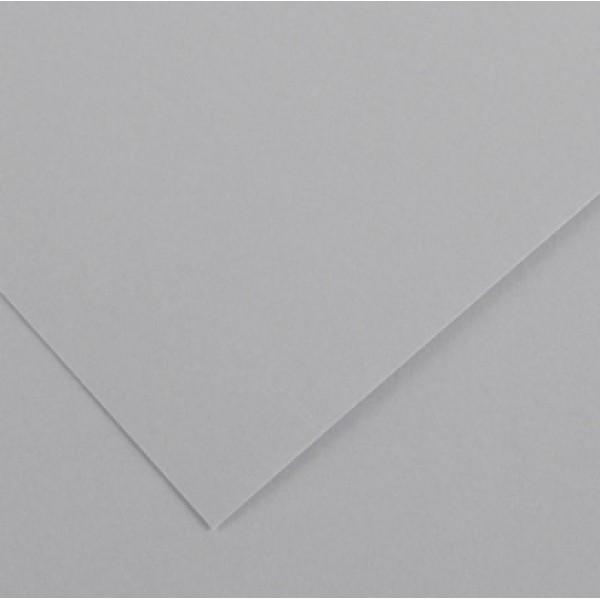Foglio Colorline - 70x100 cm - 220 gr - grigio chiaro - Canson