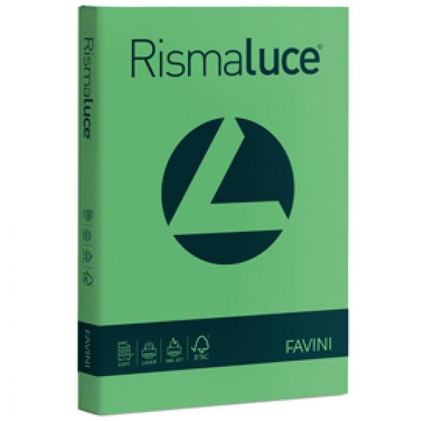 Carta colorata Rismaluce Favini A4 - 90 gr. verde - A66D304 (risma 300)