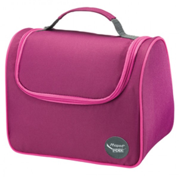 Lunch Bag - Picnick Easy - 20x25x18cm - viola/fuxia - Maped