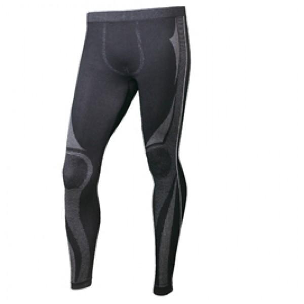 Pantalone sotto/abito Koldy - poliammide/Coolmax/elastan- taglio XXL - nero - Deltaplus
