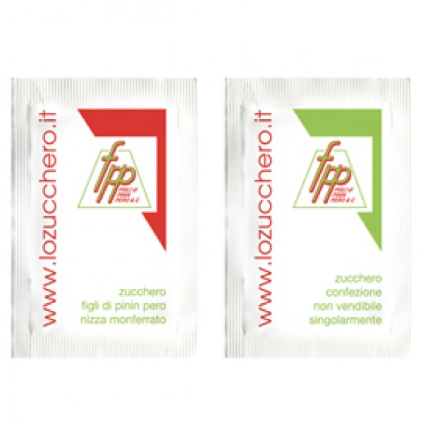 Zucchero semolato - 200 bustine da 5 gr cadauna - FPP