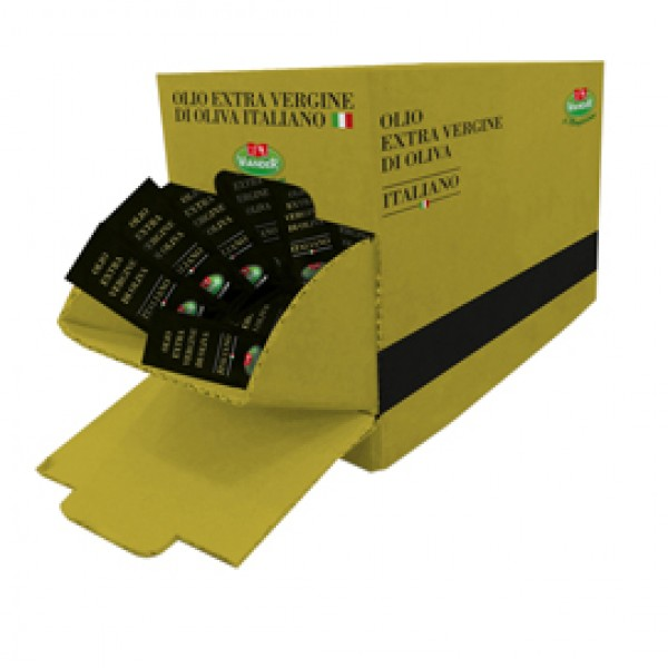 Olio extra vergine d'oliva italiano - bustina monodose da 10 ml - Viander - conf. 100 pezzi