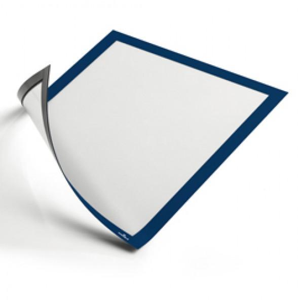Cornice magnetica duraframe - A4 - 21x29,7cm - Blu - Durable