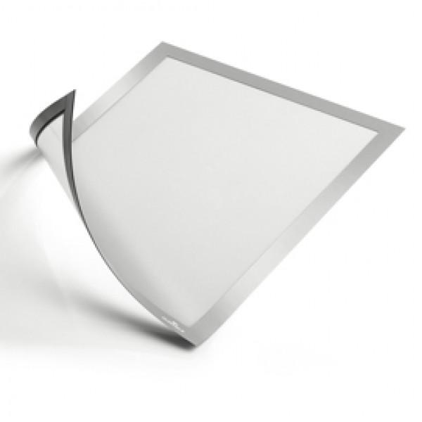 Cornice magnetica duraframe - A4 - 21x29,7cm - Argento - Durable