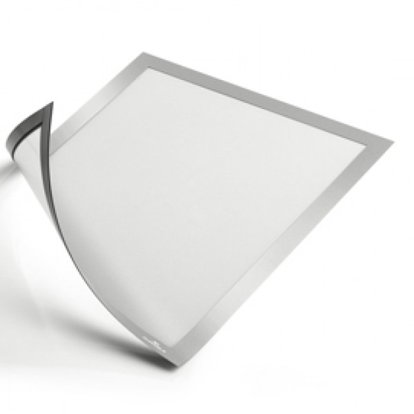 Cornice Duraframe® Magnetic - A3 - 29,7 x 42 cm - argento - Durable