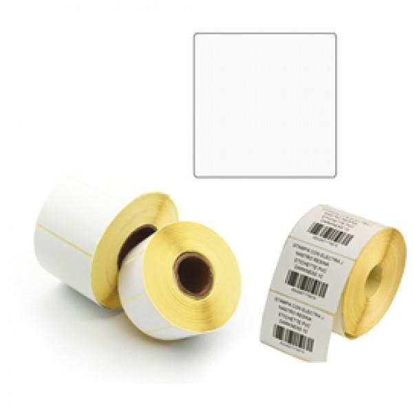 Etichette per trasferimento termico diretto - 100x100 mm - 1 pista - Printex - rotolo da 500 pezzi