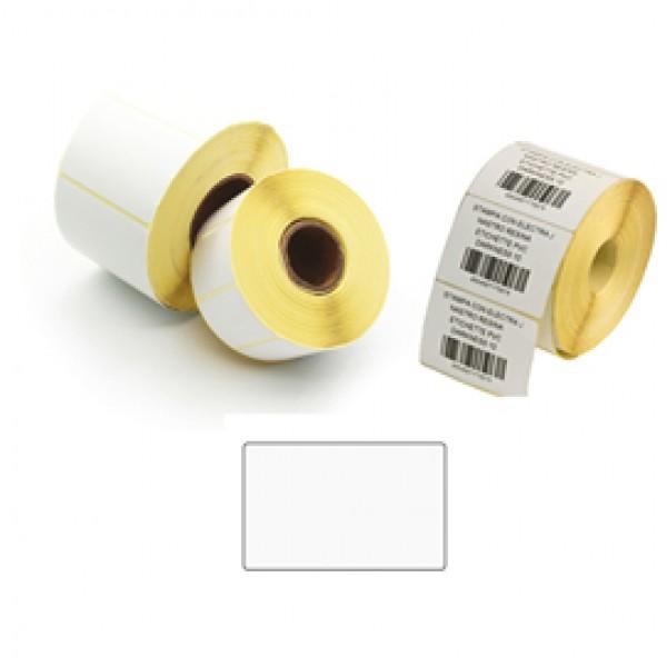 Etichette per trasferimento termico - film OPP - 58x38 mm - 1 pista - Printex - rotolo da 1000 pezzi