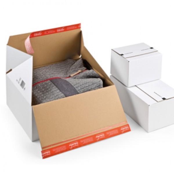 Scatola per spedizioni E Commerce - 38,9x32,4x16 cm - cartone bianco - Colompac