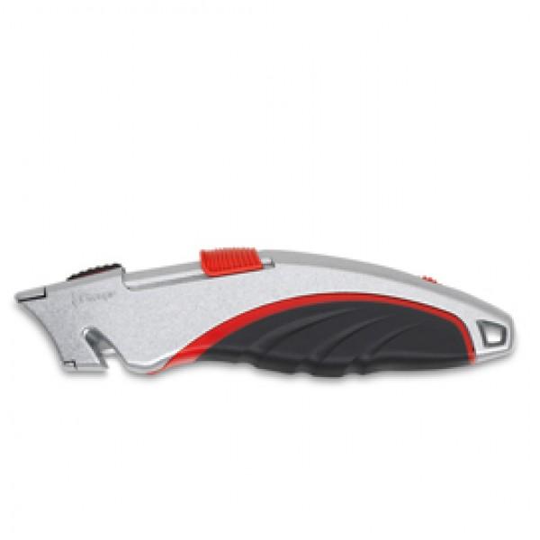 Cutter da lavoro Super Safety SX 1258 - lama a rientro automatico - Artiglio