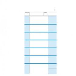 Comande a 7 tagliandi - snap 2 copie autoric. - 23 x 10,5 cm - DU16197T000 - Data Ufficio
