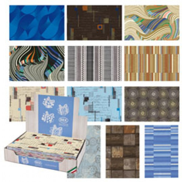 Carta regalo - raso - Classico - 70 x 100 cm - Rex Sadoch - scatola 100 fogli