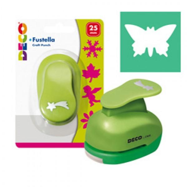 Fustella - motivo farfalla - dim. sagoma 25 mm - CWR