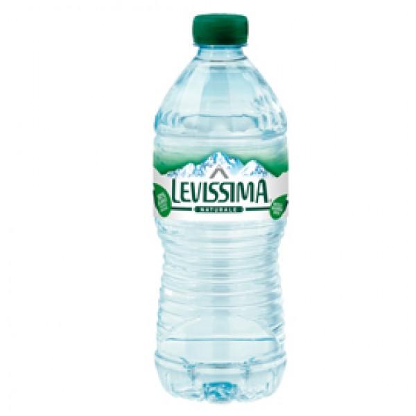 Acqua naturale - PET 100% riciclabile - bottiglia da 500 ml - Levissima