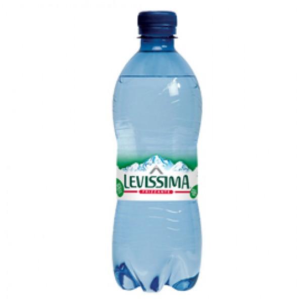 Acqua frizzante - PET 100% riciclabile - bottiglia da 500 ml - Levissima