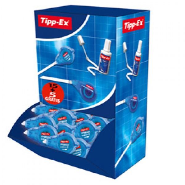Value pack - correttore a nastro Easy refill - 5mmx14mt - Tipp-Ex - 15+5 pezzi