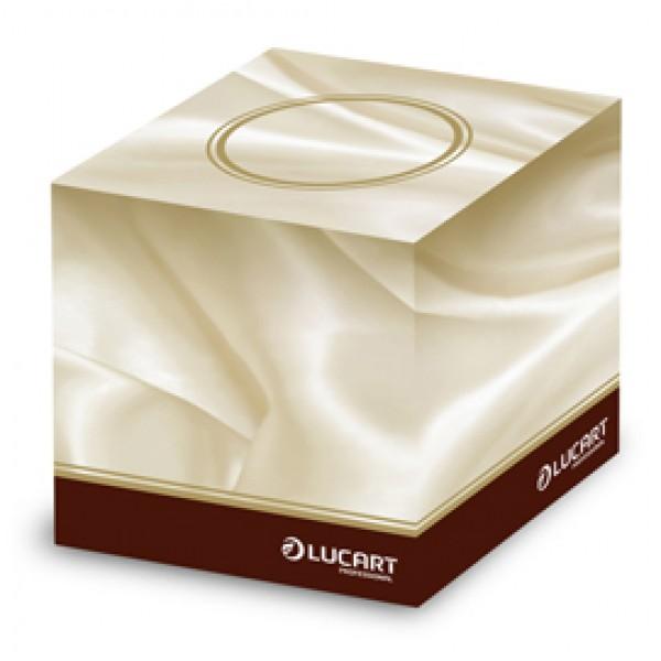 Veline multiuso Cube - 3 veli - 21x20 cm - Lucart - conf. 60 pezzi