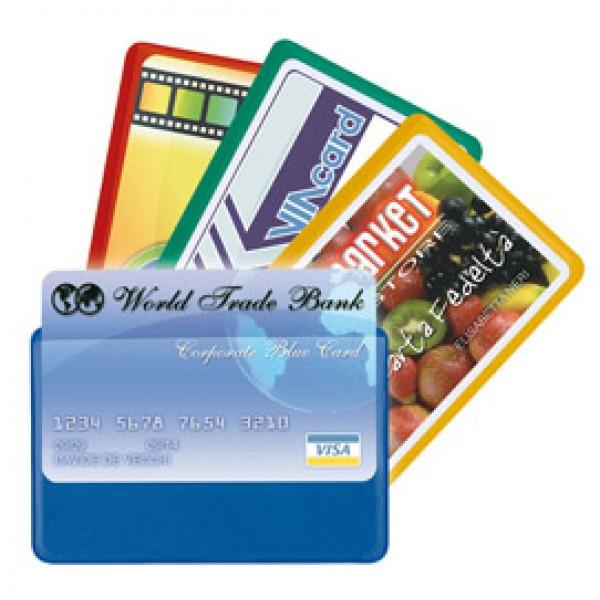 Busta porta card - 5,8x8,7 cm - 1 tasca - colori assortiti - Sei Rota