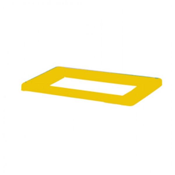 Coperchio per contenitore Bob Color - 20x2 cm - giallo - Medial International