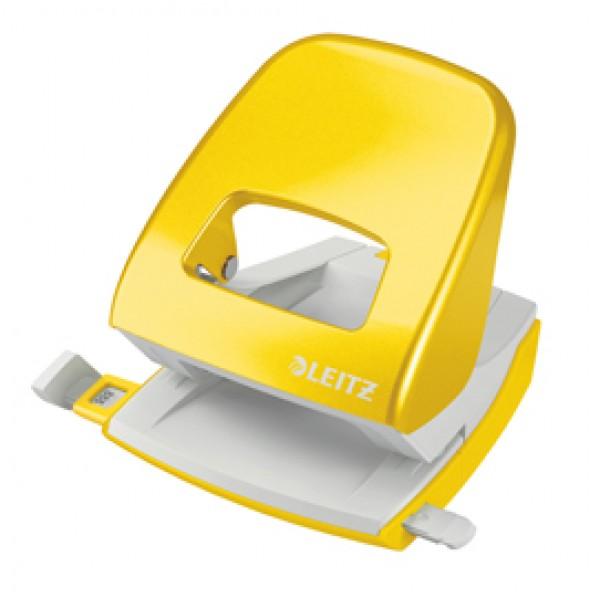 Perforatore 2 fori 5008 WOW giallo max 30fg LEITZ