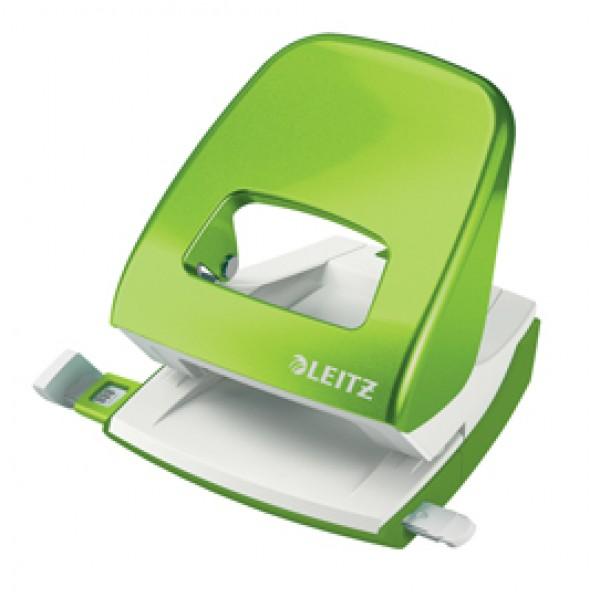 Perforatore 2 fori 5008 WOW verde lime max 30fg LEITZ