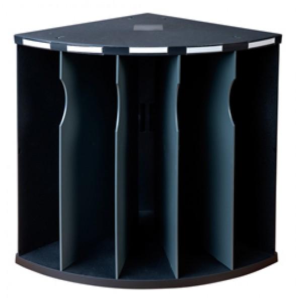 Classificatore ergonomico 5 scomparti The Corner - nero - Exacompta