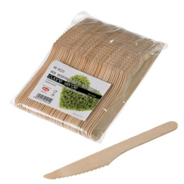 Coltelli in legno - 16 cm - Leone - conf. 48 pezzi
