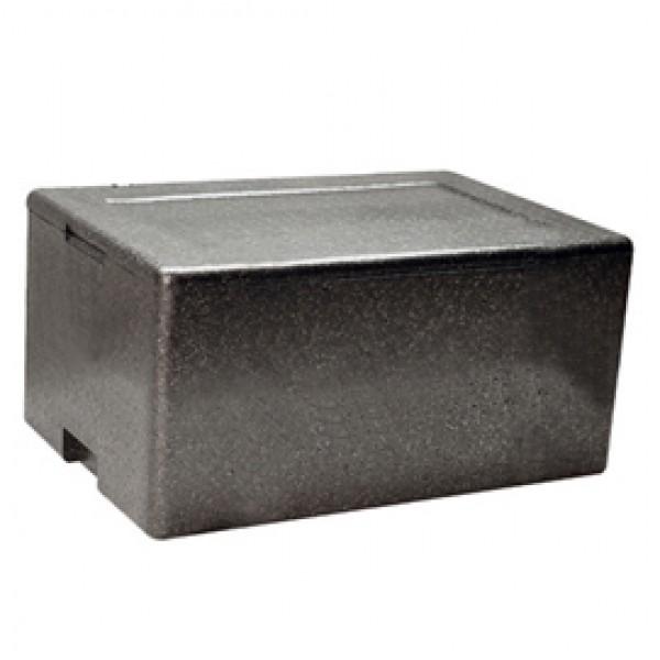 Cassa termica - in polipropilene espanso - per il trasporto alimenti - 61x43x21,5 cm - Cuki Professional