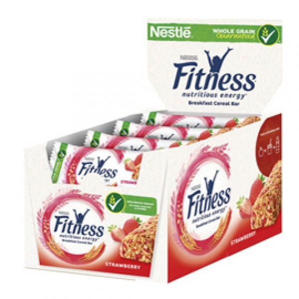 Barretta fitness fragola - monoporzione da 23,5 gr - Nestlè