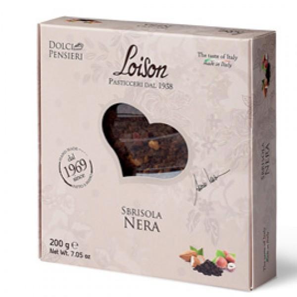 Torta Sbrisola nera - 200 gr - Loison