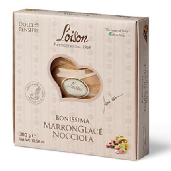 Torta Bonissima - marronglacé nocciola - 300 gr - Loison