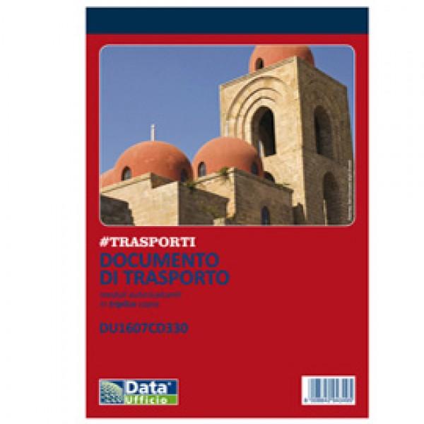 Blocco DDT - 33/33/33 copie autoricopianti - 21,5 x 14,8 cm - DU1607CD330 - Data Ufficio