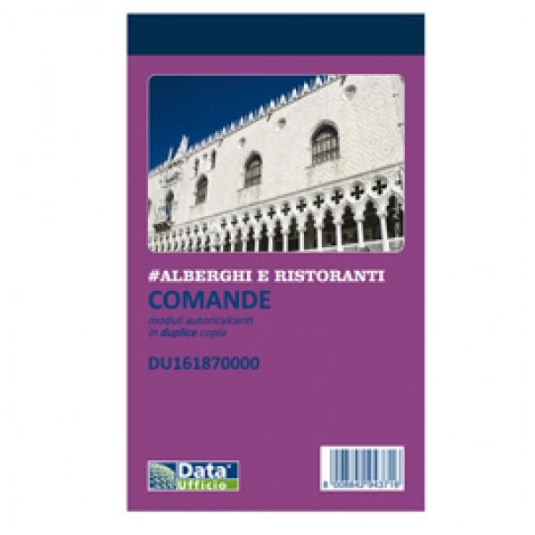 Blocco comande - 25/25 copie autoricopianti - 16,8 x 10 cm - DU161870000 - Data Ufficio