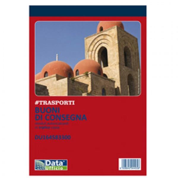 Blocco buoni di consegna - 33/33/33 copie autoric. - 21,5x14,8cm - DU164583300 - Data Ufficio