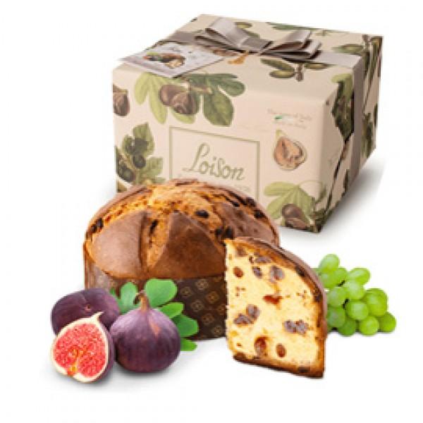 Panettone Linea Frutta e Fiori - 500 gr - fico - Loison